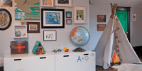 Vintage Outdoorsy Boys Room - Design Dazzle