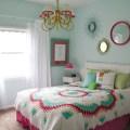 Colorful teen girls bedroom design dazzle