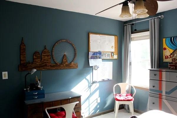 Rustic Modern Teen Boys Room  Design Dazzle