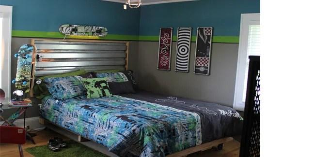 A Skateboarders Dream Room Design Dazzle