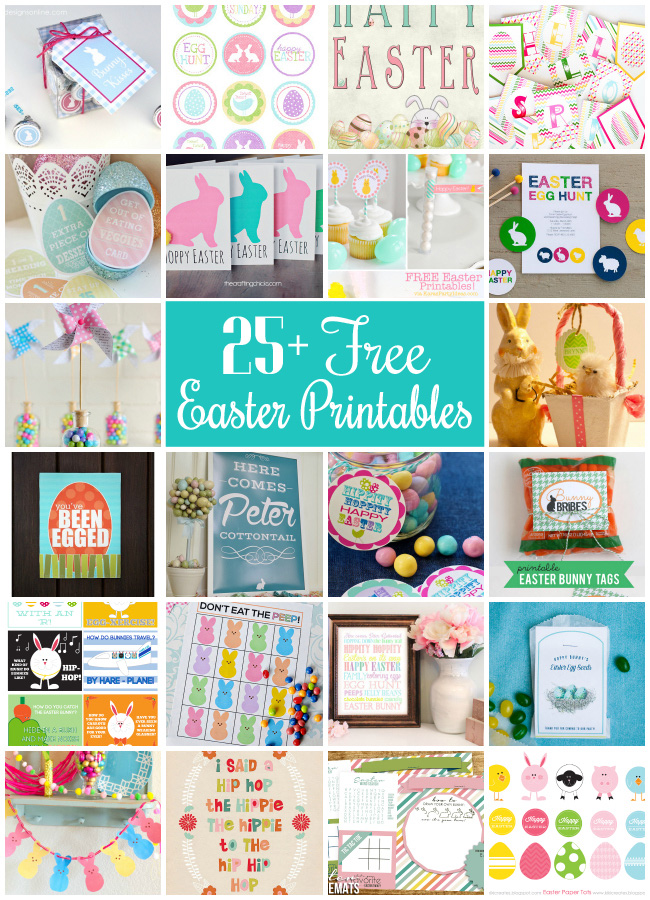 25+ Free Easter Printables at Design Dazzle