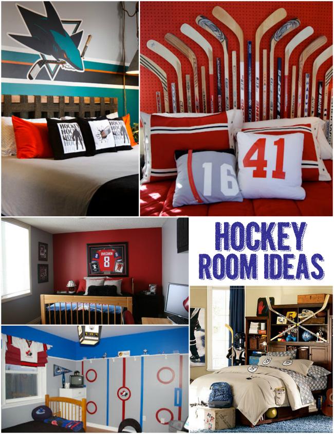 Hockey Bedroom Decor Canada: Hockey Room Ideas