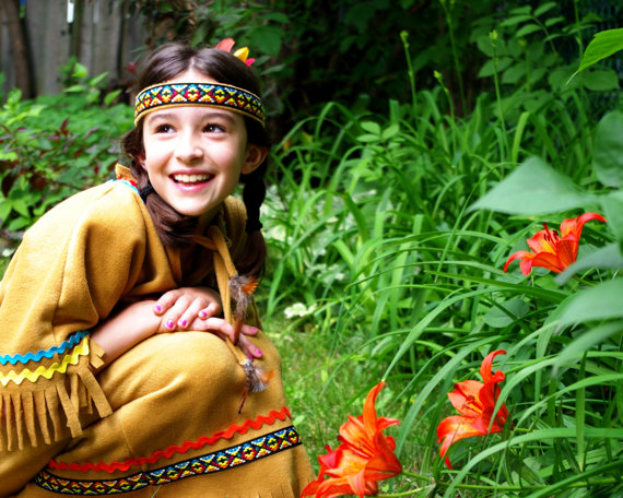 Native American girl costume Pocahontas costume