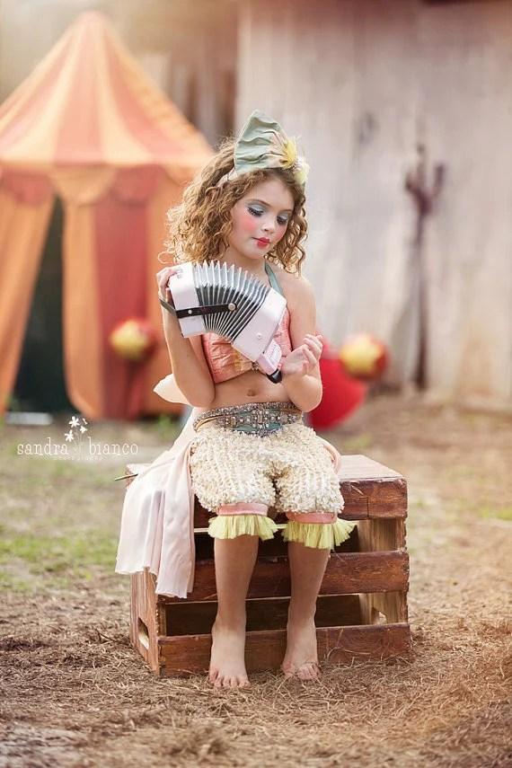 vintage circus girl costume genie costume