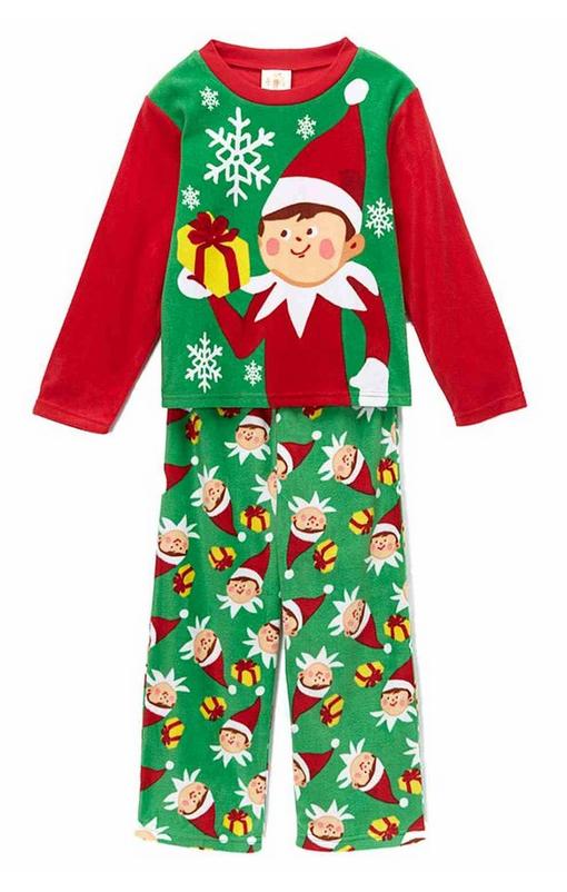 boys plaid christmas pajamas
