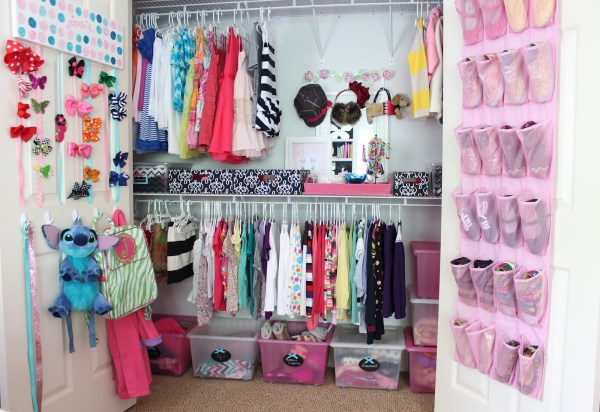 Kids Closet Organization Ideas