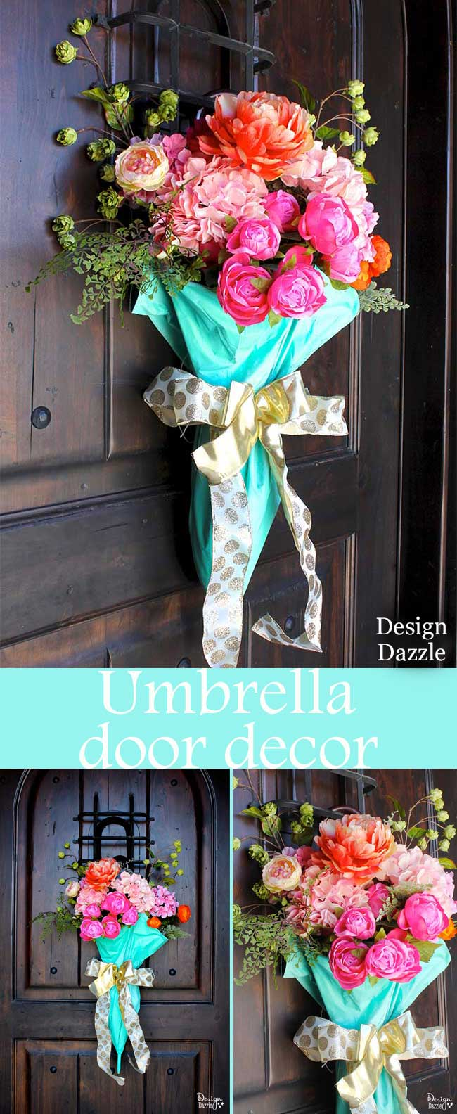 Umbrella Spring Door Decor Design Dazzle