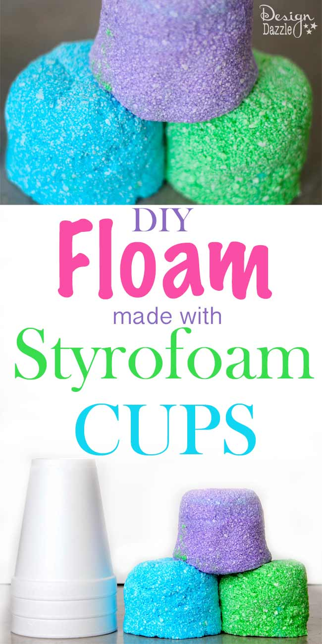 Halloween Crafts Styrofoam Cups
