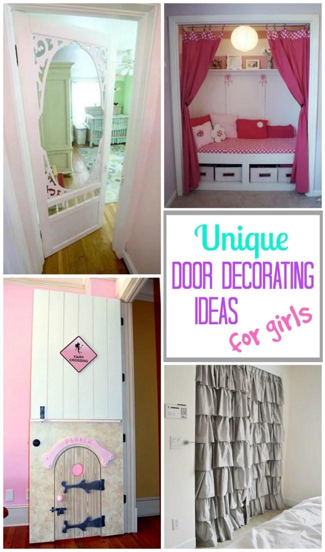 Decorating Door Ideas for Girls