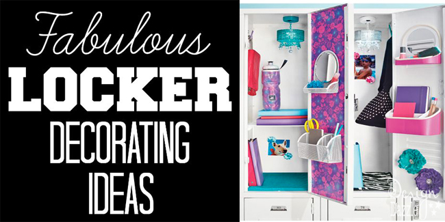 locker decorating ideas design dazzle - Locker Designs Ideas