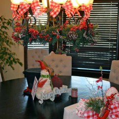 Elegant Dining Room Chairs Dove Hunting Chair Christmas Decor (& How To Tie A Simple Bow!) - Design Dazzle