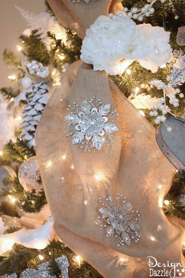 Winter Wonderland Glam Christmas Tree Michaels Dream