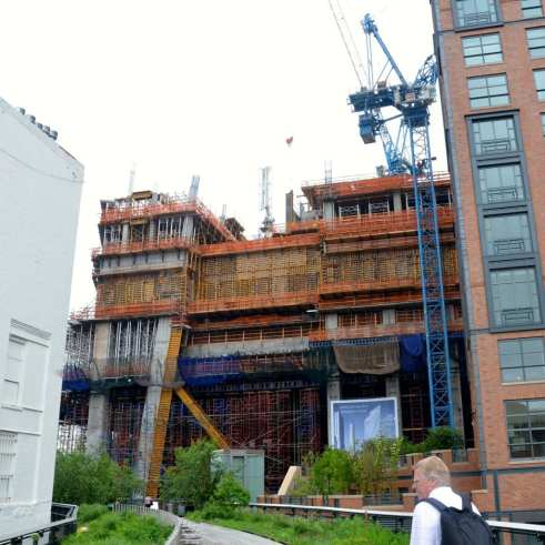 Construction on the Highline