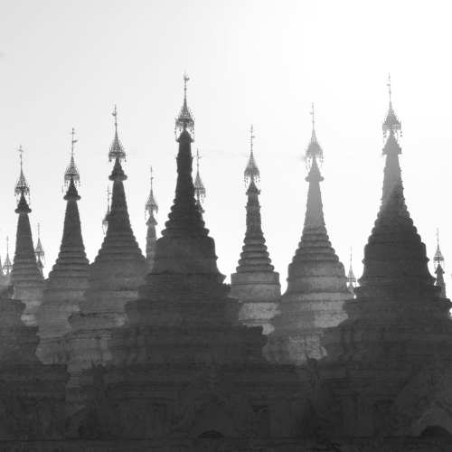 Thousands of Pagodas in Myanmar