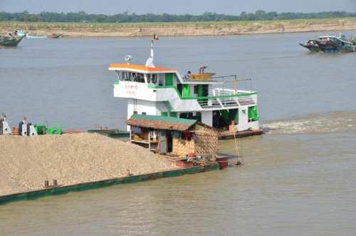 Seen from the Orcaella, Myanmar