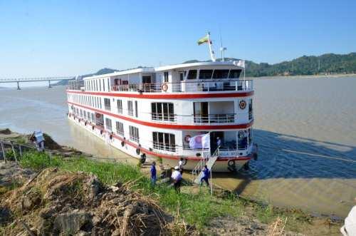 Orcaella, Belmond, Myanmar