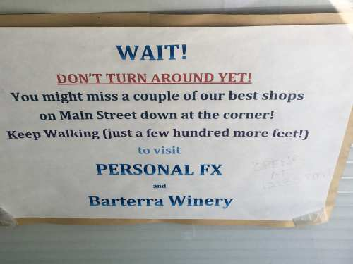 Fun and Funny Signs in Half Moon Bay
