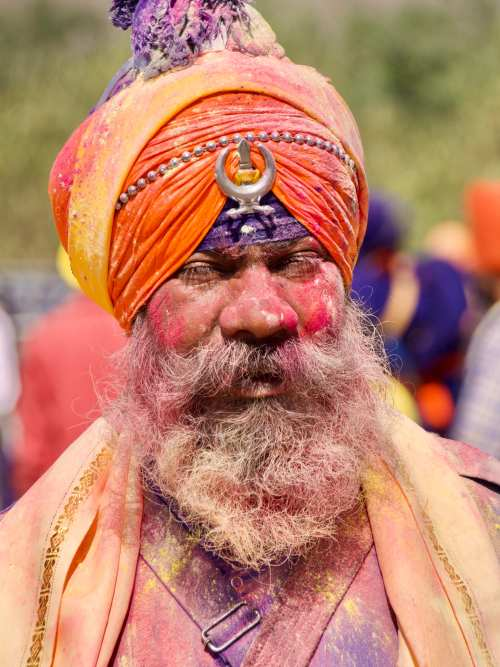 Nihang Turban at Hola Mohalla