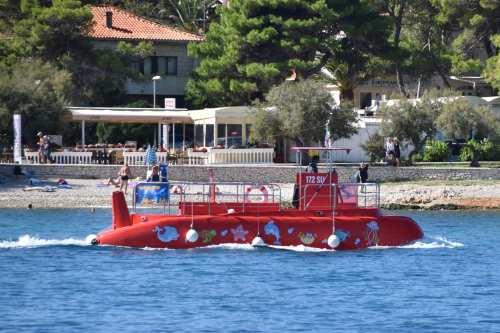 Tourist boat, Croatia