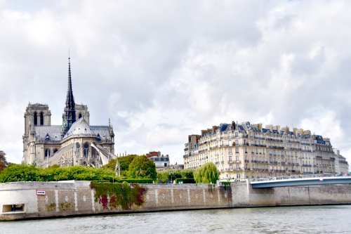 Seen from the Seine