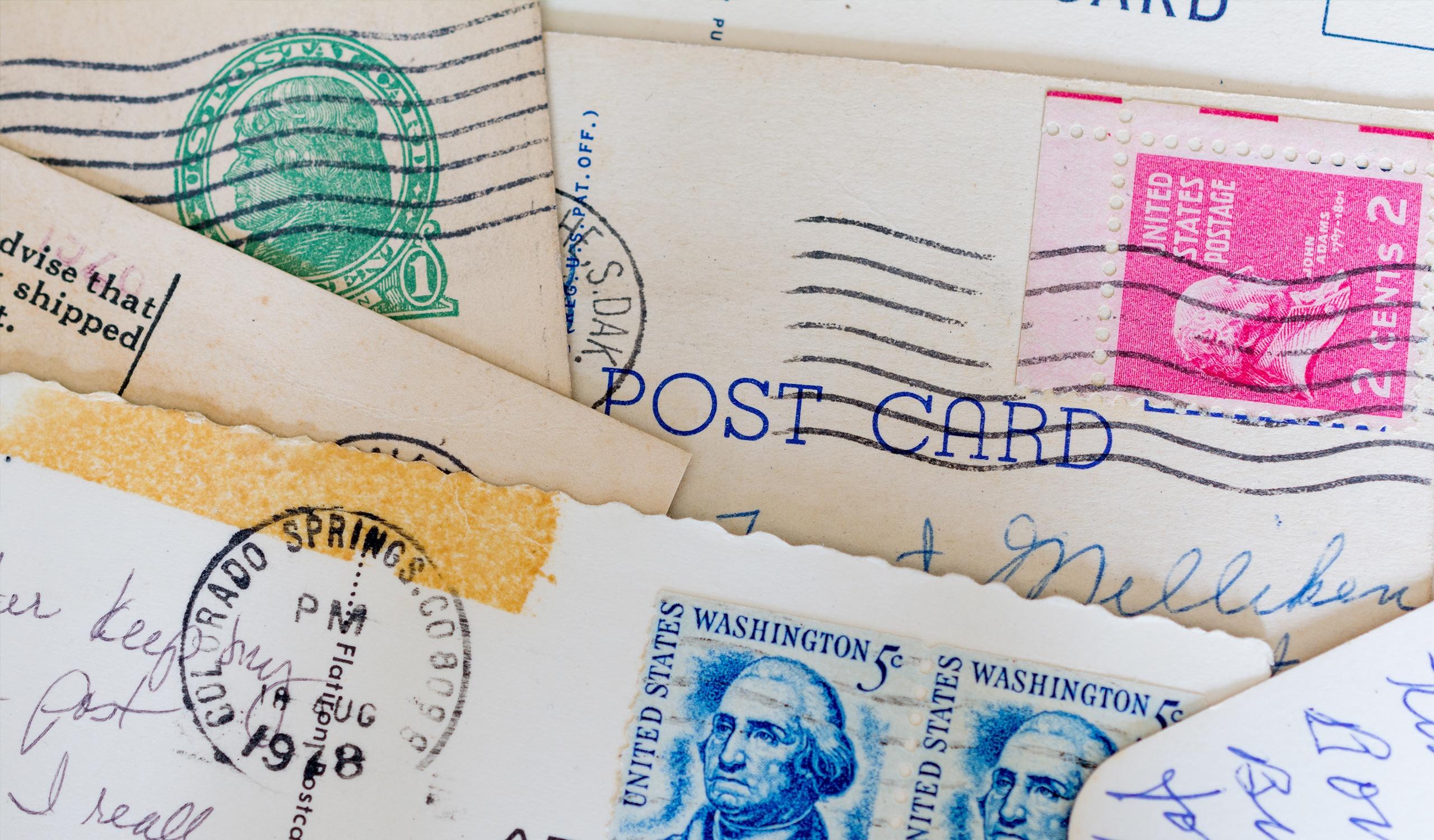choosing the perfect postcard