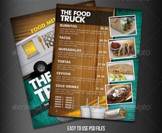 restaurant menu psd template free awesome food menu template goal