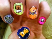 animal nail art design designdune
