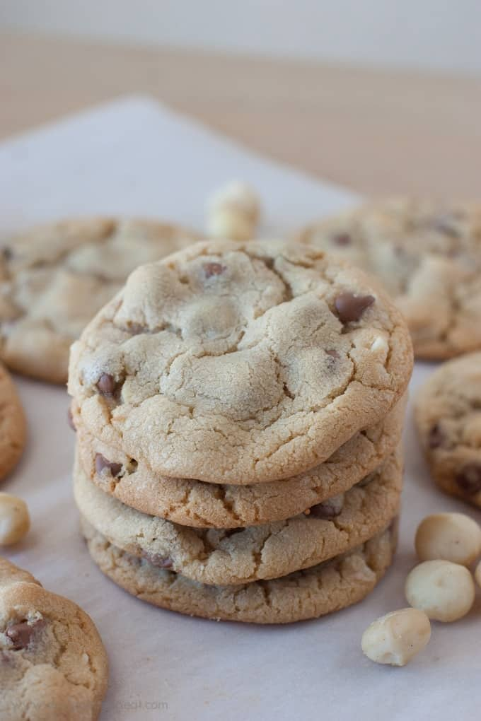 Chocolate Chip Macadamia Nut Cookie