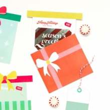 Printable Holiday Gift Card Holder