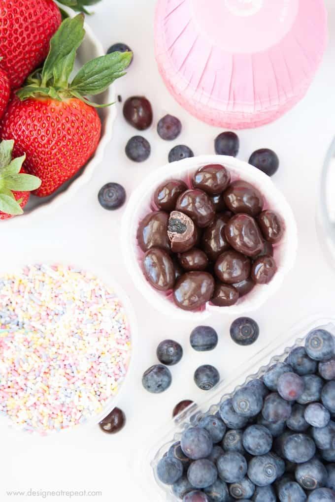 Homemade Fruit & Chocolate Trifles!