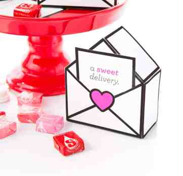 Printable Valentine's Day Candy Boxes
