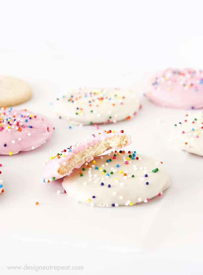 Recreate a childhood favorite with these Frosted Animal Cookie Wafers!
