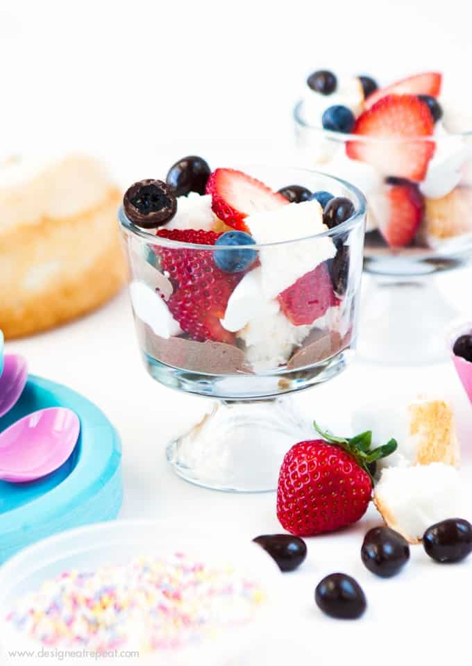 Start spring off right with this DIY Trifle Bar from Design Eat Repeat!