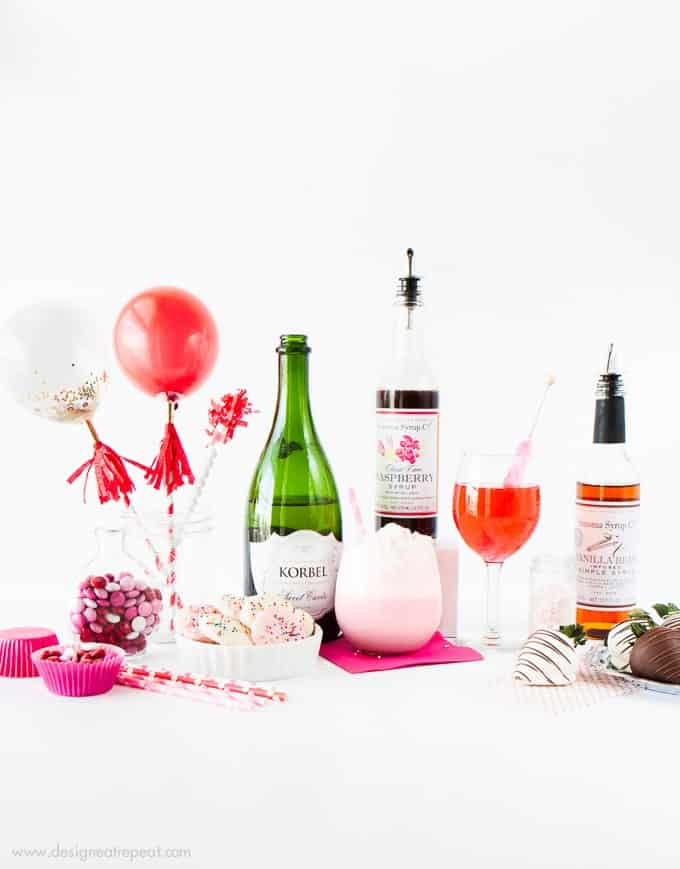 Throw a festive party with these festive Valentines Day ideas and recipes! Love these!