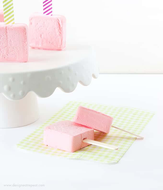 Turn ordinary popsicles & sorbet bars into frozen birthday cakes with these free candle printables! Attach one to each popsicle stick for a easy birthday treat idea!
