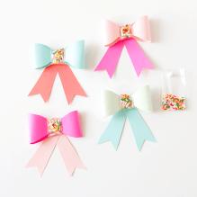 DIY Sprinkle Paper Bows