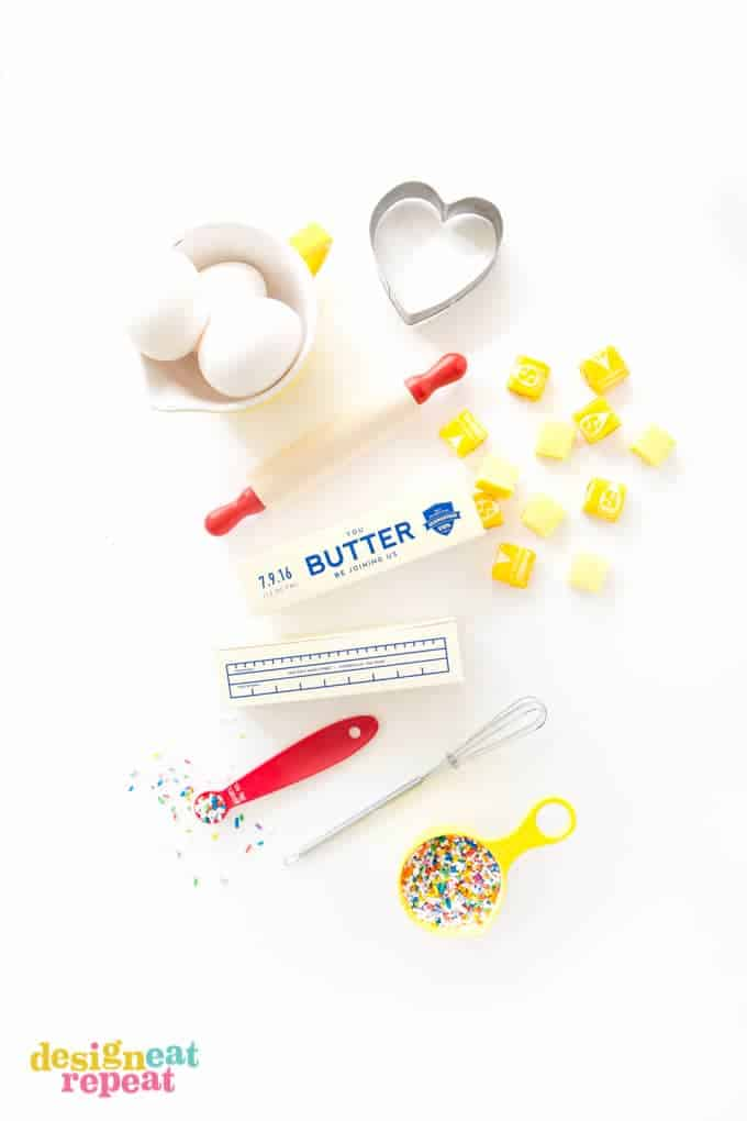 Invite your friends to the ultimate baking party with these printable stick of butter baking party invitations that dual as giftable candy boxes!