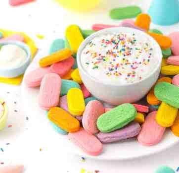 Birthday Sprinkle Sugar Cookie Dippers