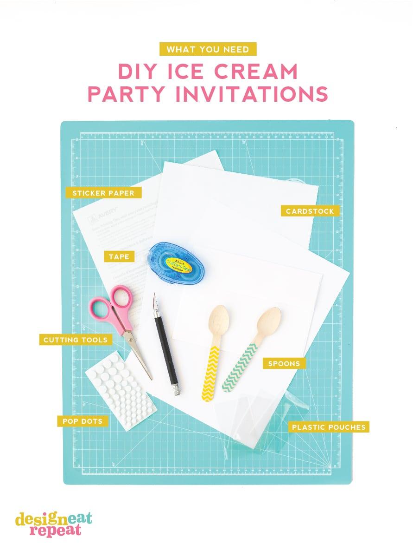 ice cream party invitations printable ice cream party invitations image collections