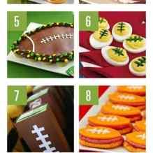 Football Game Day Treat Ideas!