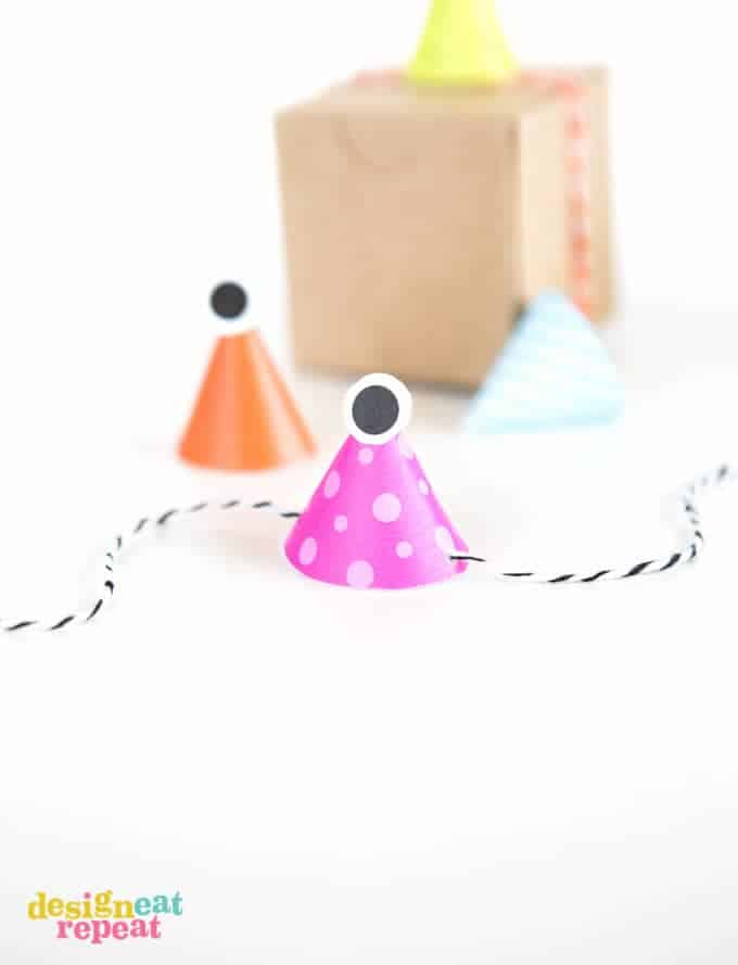 Mini Halloween Treat Topper Party Hats