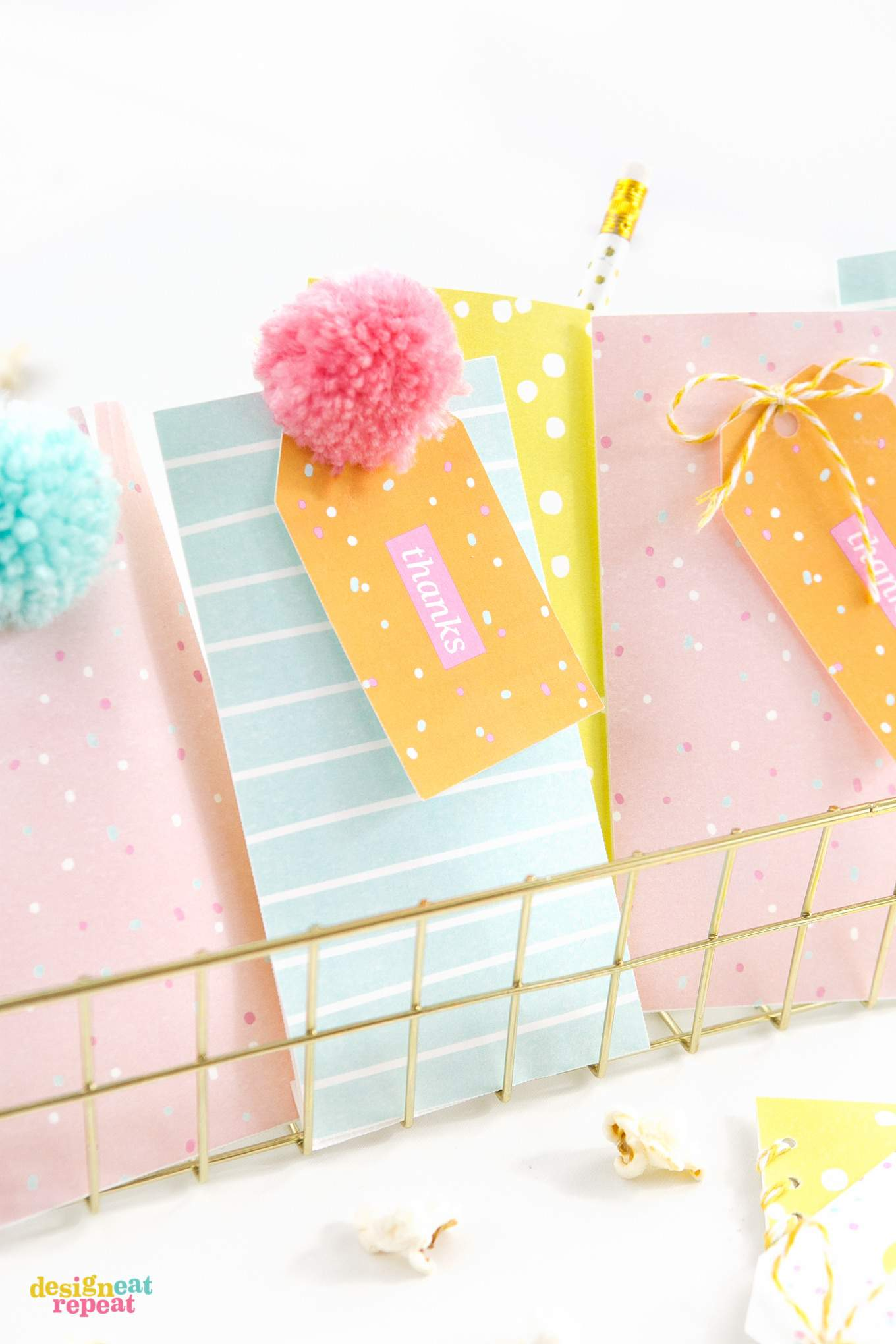 colorful printable birthday gift