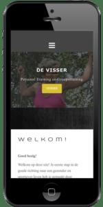 Iphone afbeelding De Visser Personal en Groepstraining