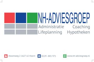 Voorkant visitekaartje NH-Adviesgroep
