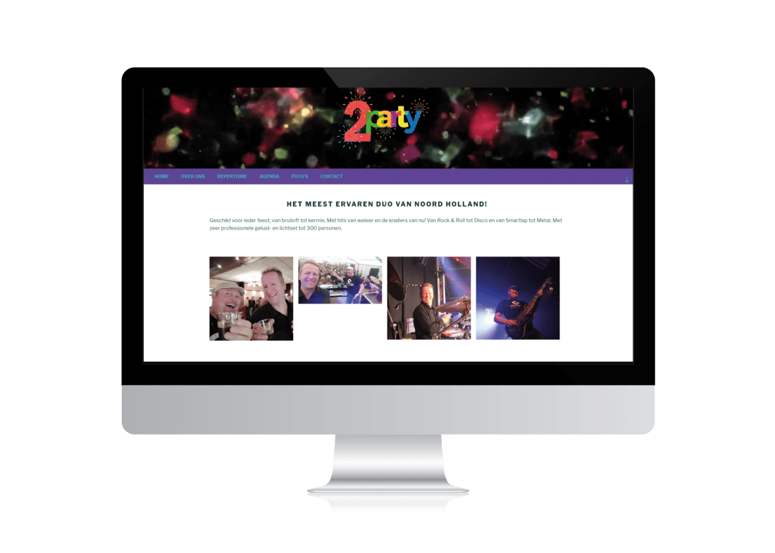 2 party website