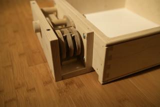 Hidden Drawer  Designed and Made