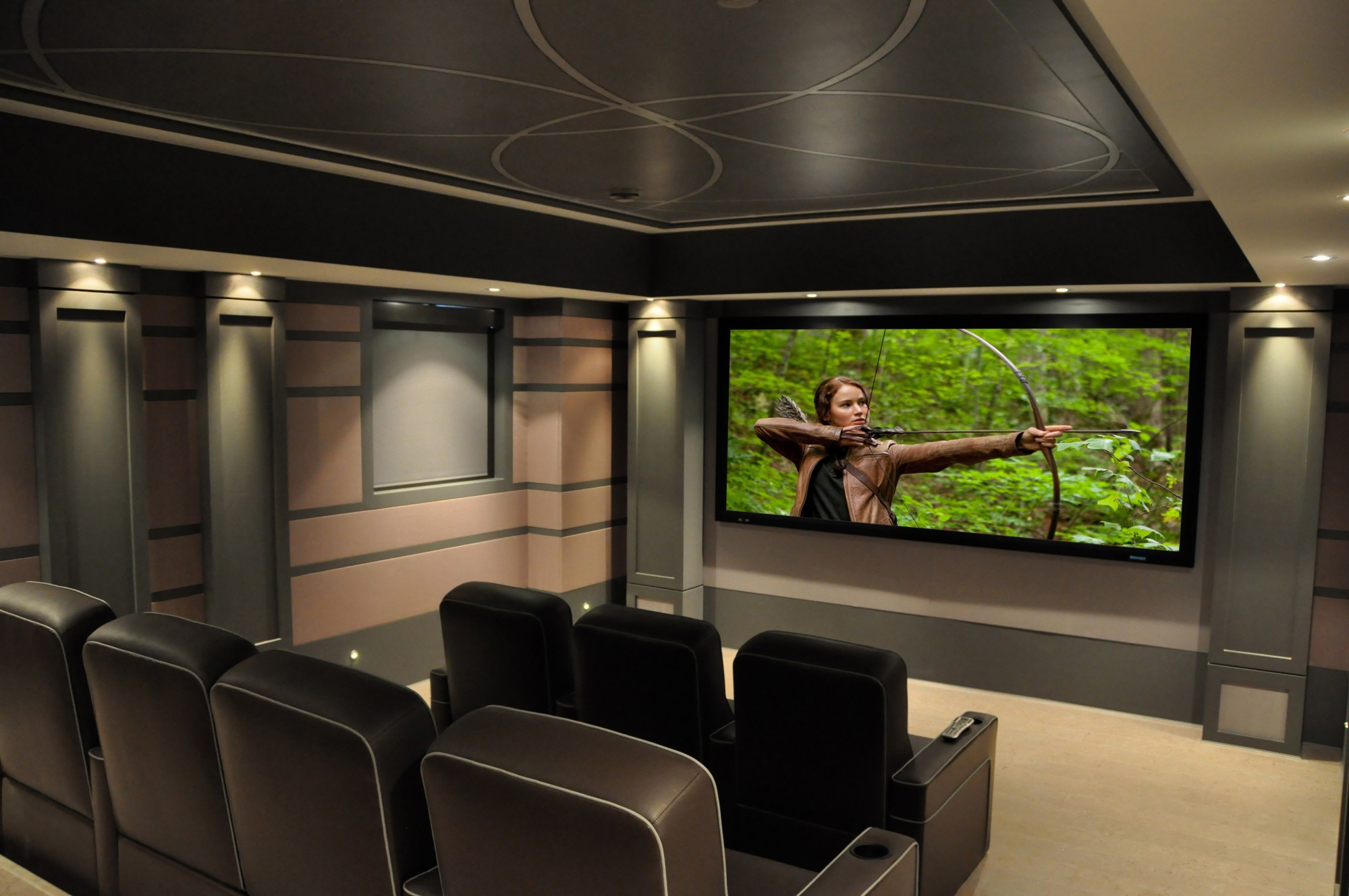 hight resolution of av 101 design electronics staged cinema seating concealed wiring speaker projector mountings