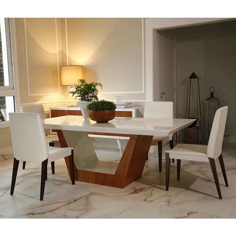 Mesa de Jantar Caterina  Compre Mveis OnLine  Design