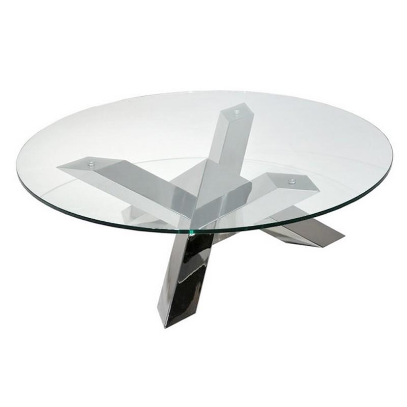 table basse ronde tess