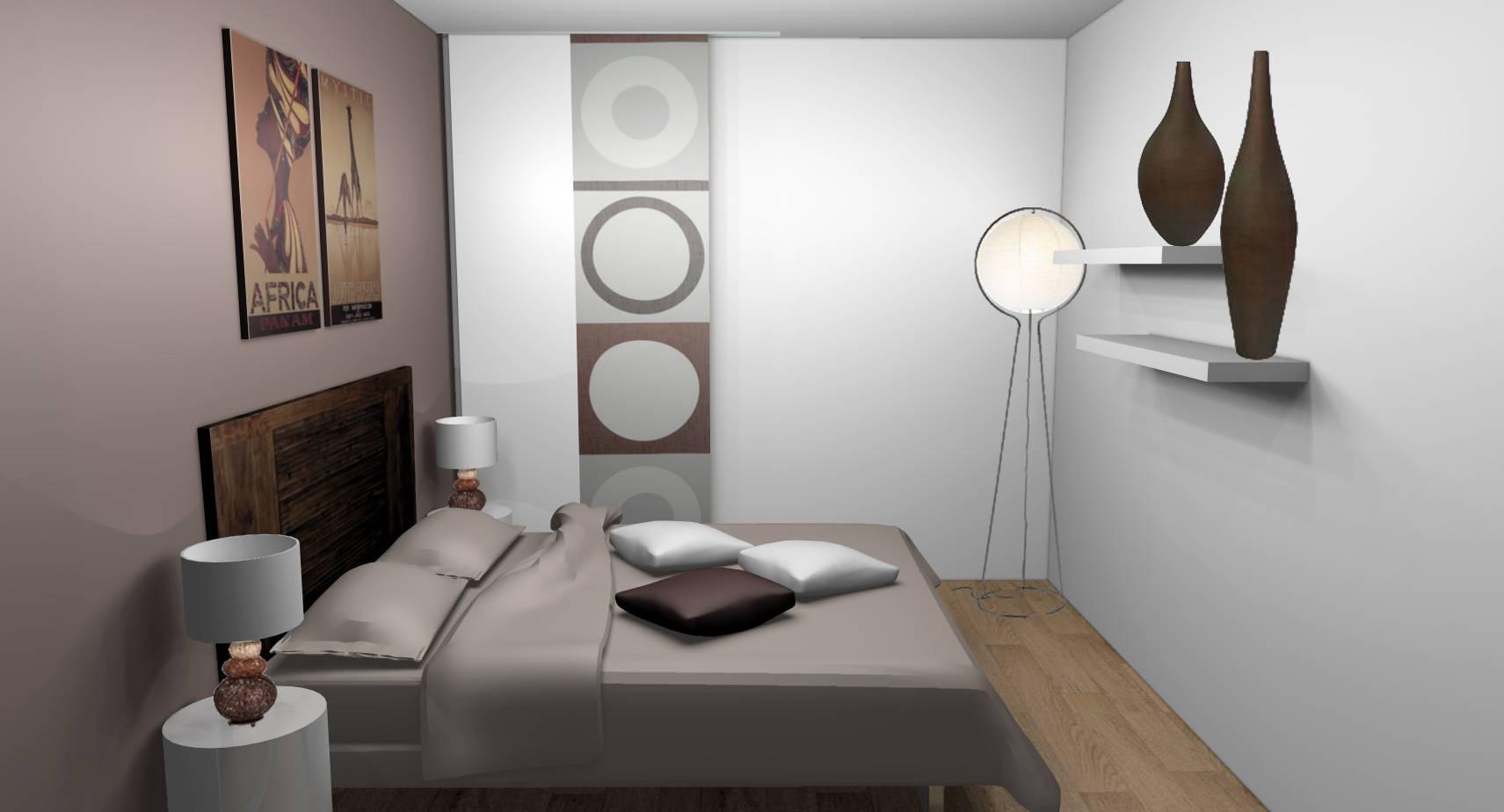 Dcoration dintrieur dune chambre  DamarielesLys 77  Designement Vtre